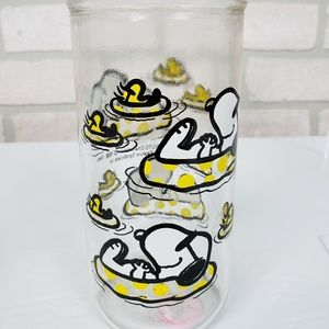 Other - ✨Peanuts Glass Snoopy and Woodstock Floating